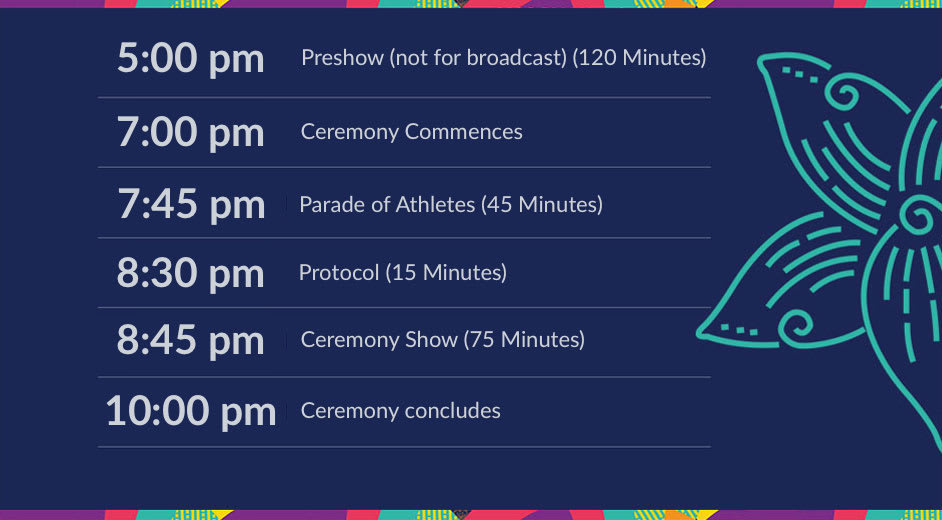 Asian Games 2018 Jakarta, Opening Ceremony Date, Start Time