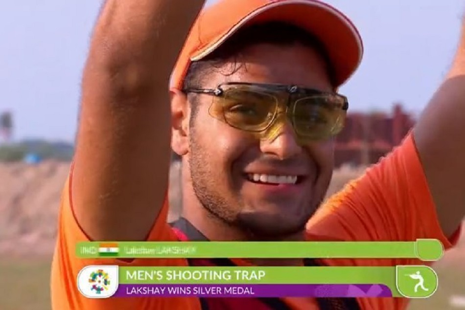 AsianGames 2018: Lakshay finished 2nd in Mens Trap event