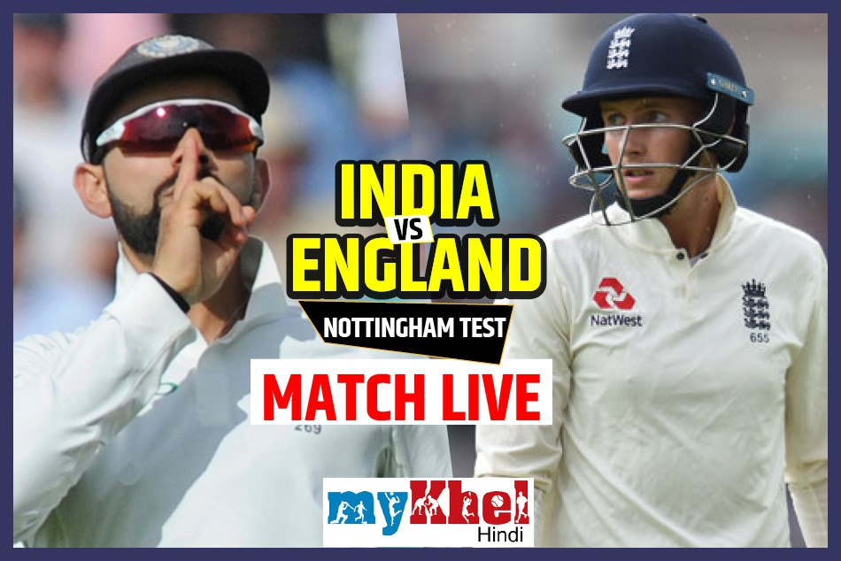 india vs england 3rd test match 4th day live score nottingham