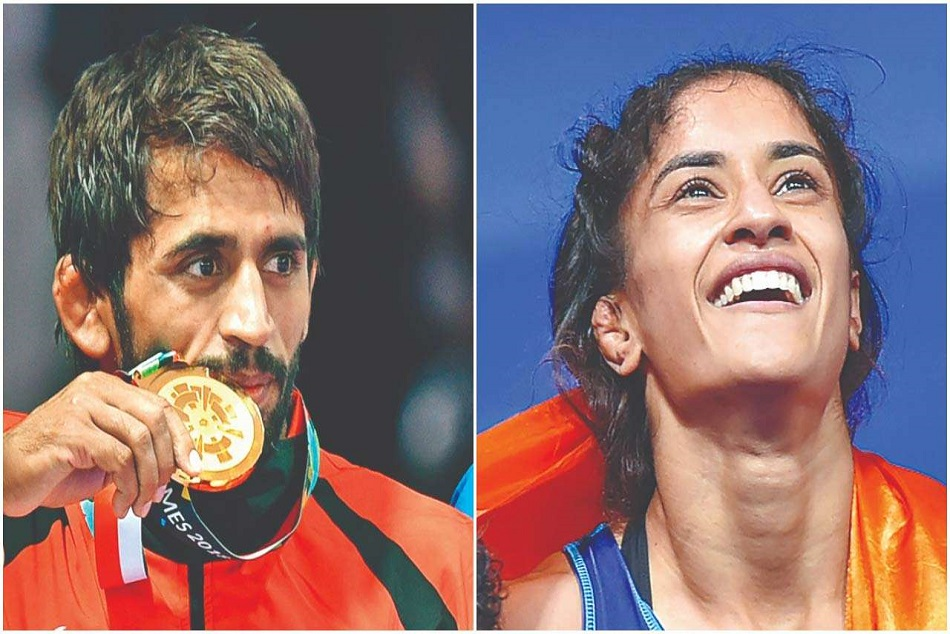 Vinesh and Bajrang to be awarded by Khel Ratna award this year