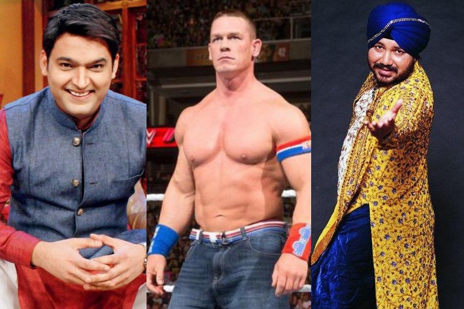Wwe Champion John Cena Share Kapil Sharma Pic Fan