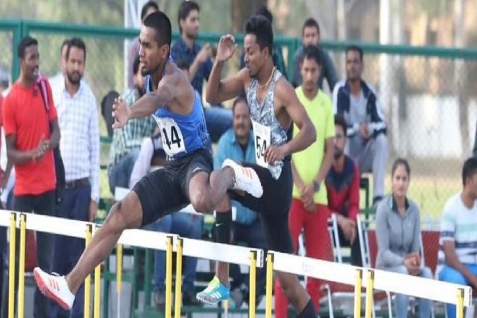 Asiangames2018 Dharun Ayyaswamy Wins Silver 400m Hurdles