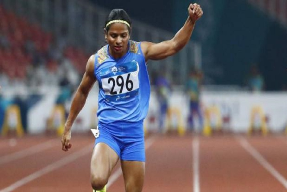 dutee chand won silver in 100m asian games 2018