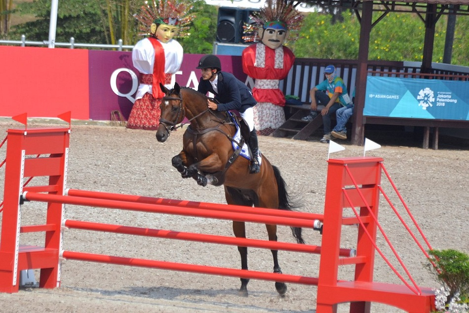 AsianGames2018: Fouaad Mirza wins silver medal Equestrian