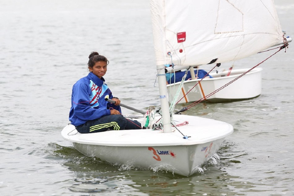 Asian Games 2018 Harshita Tomar Wins Bronze The Open Laser