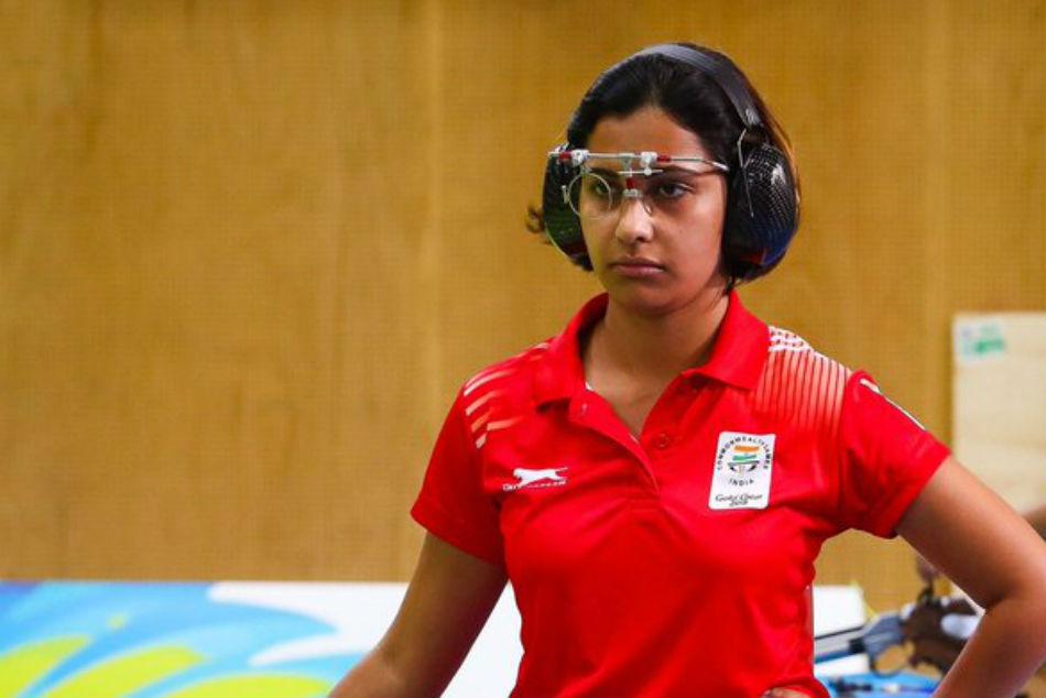 Heena Wins 10m Air Pistol Bronze Asian Games 2018 Manu Bha