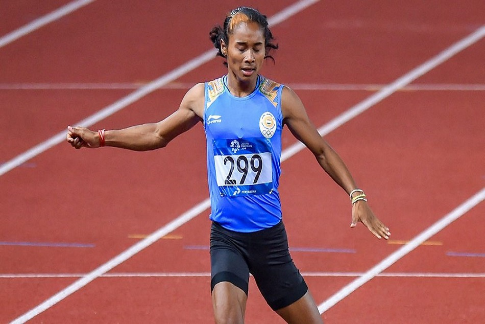 hima das won silver in 400m in asian games 2018
