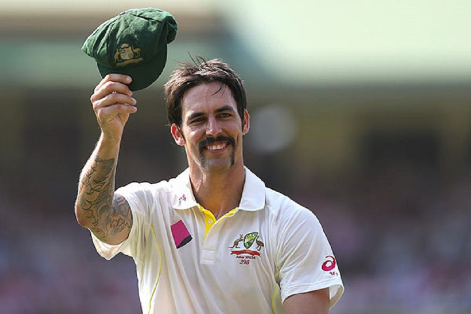 mitchell johnson makes a unique record gave minus 35 run and took 7 wickets
