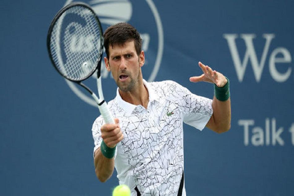 Tennis Djokovic Dimitrov Match Suspended