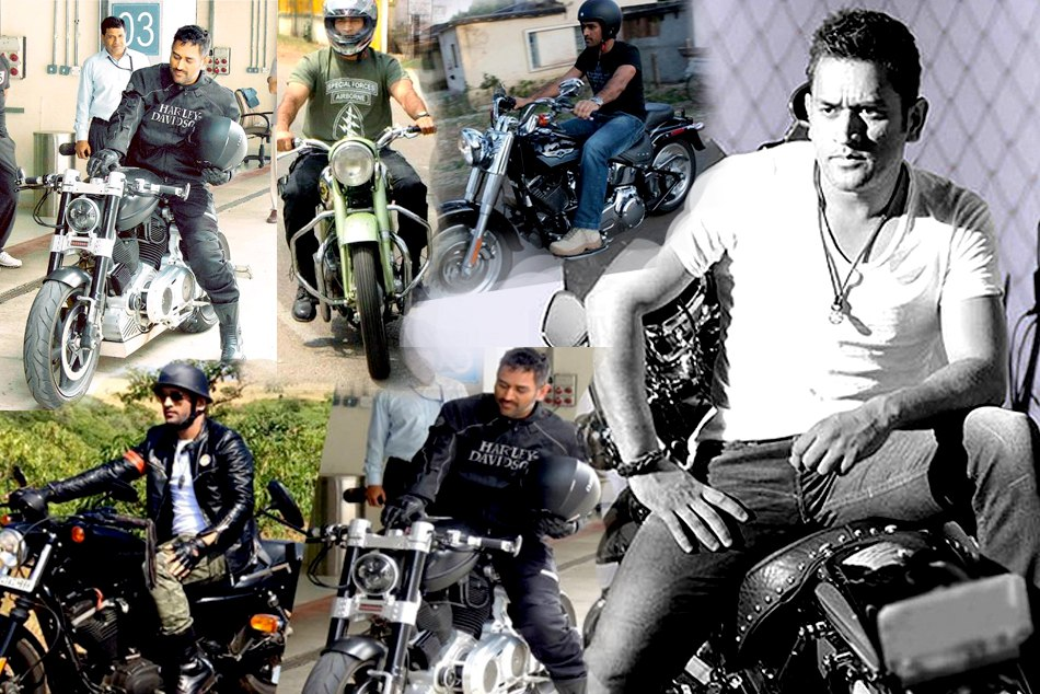 Sakshi Reveals MS Dhoni Bike Collection See Pics
