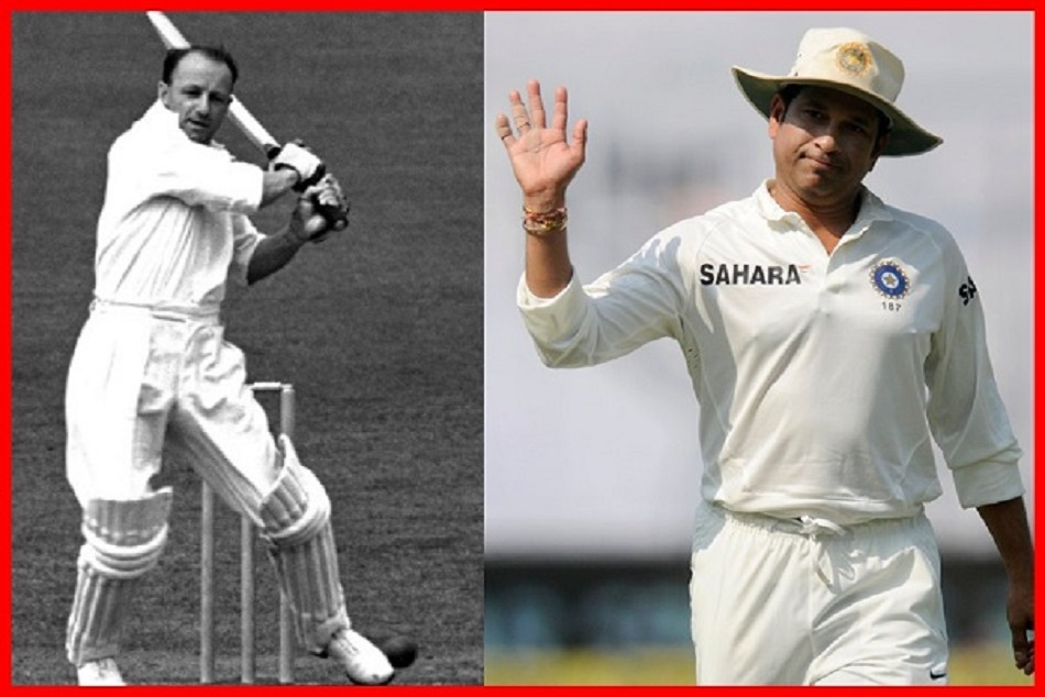 Sachin First test century and Don bradman last Inning