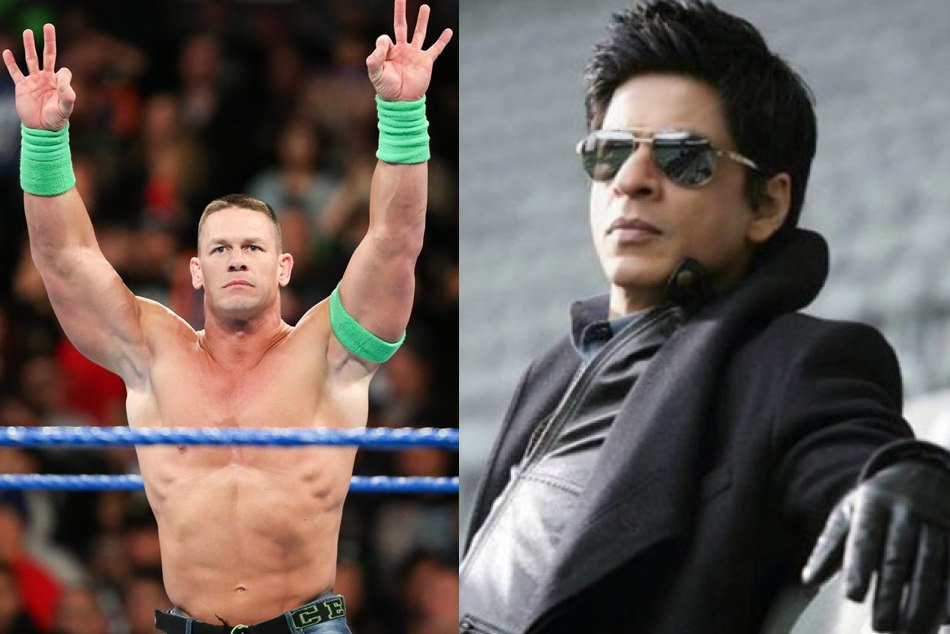 John Cena Shared Photo Shahrukh Khan On Instagram