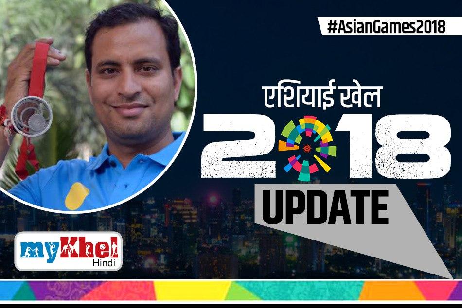 Asian Games 2018 Sanjeev Rajput Won Siver Shooting