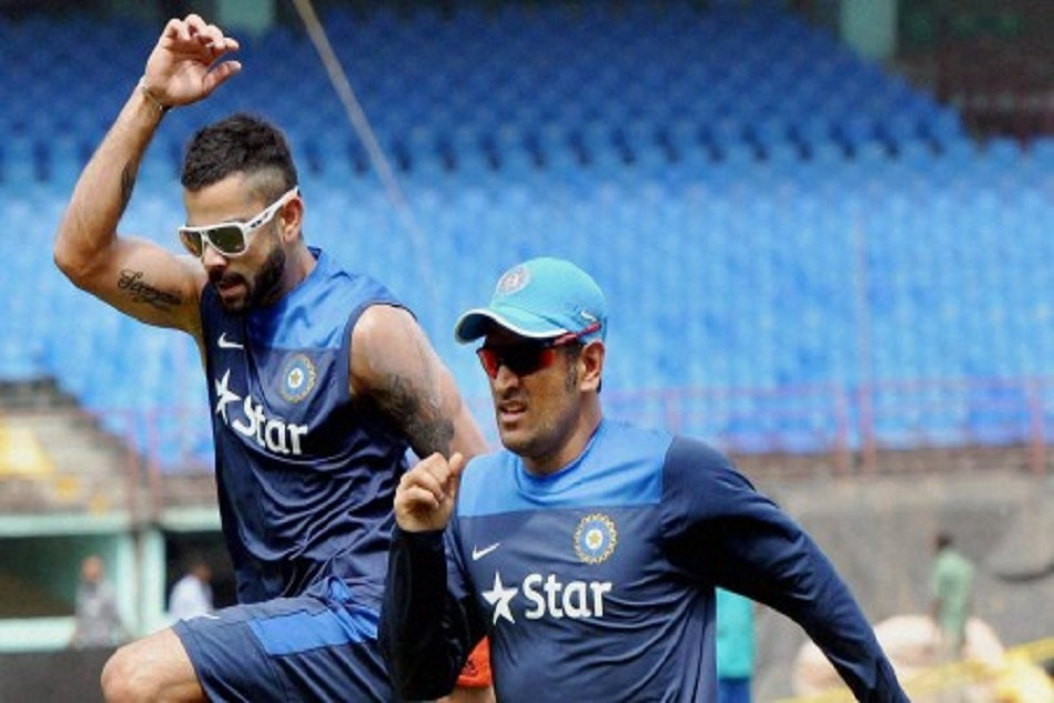 ms dhoni said kohli is best batsman will sure won test in england