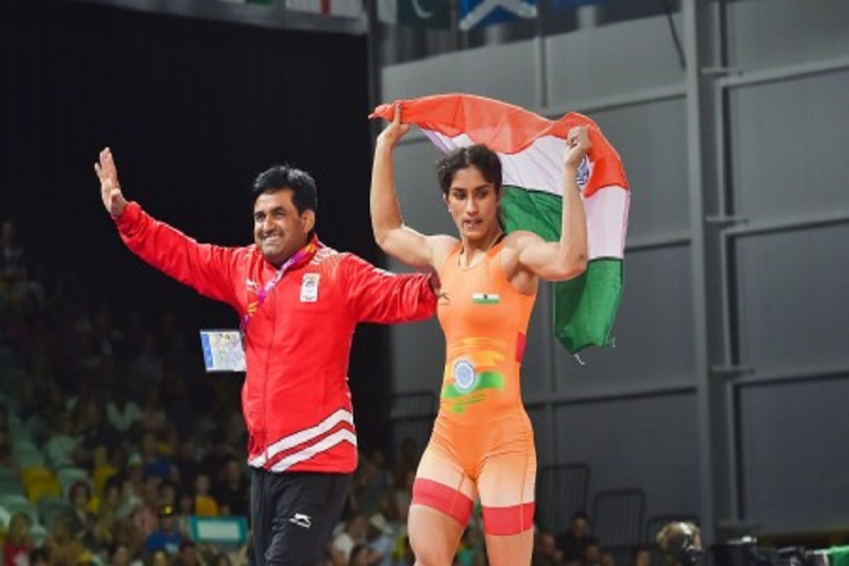 vinesh phogat slams govt for poor facility before asian games