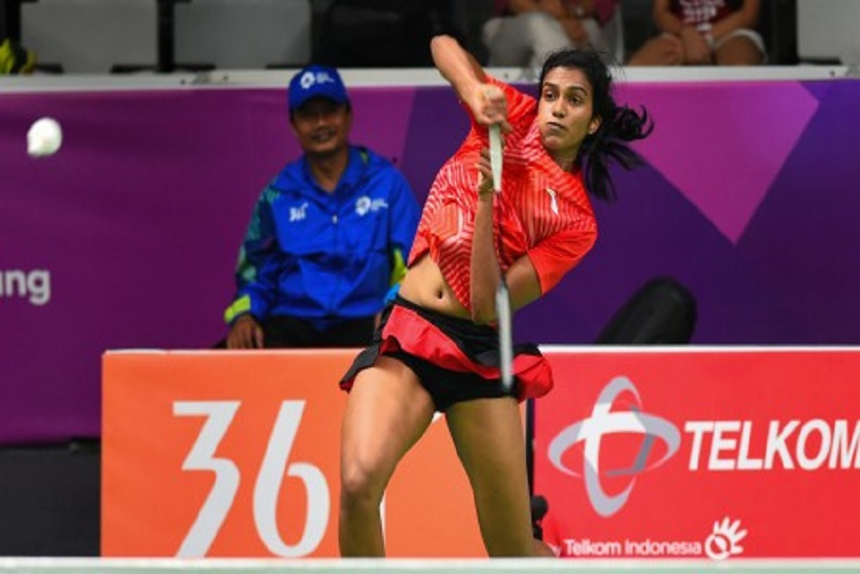 pv sindhu reached quarter final of asian games 2018 badminton