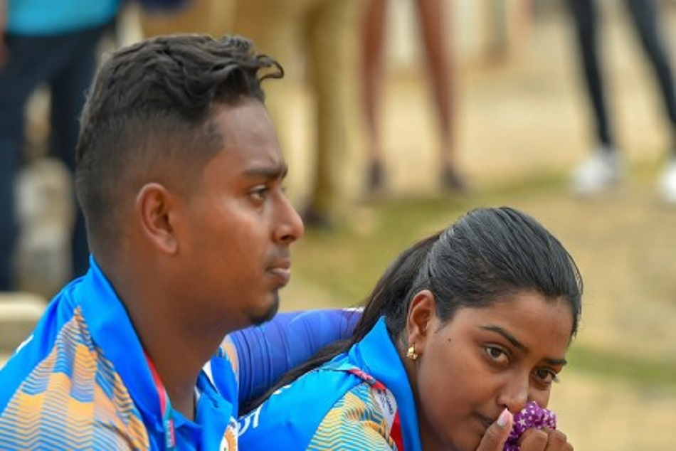 Asian Games Deepika Kumari Atanu Das After Defeated Archery