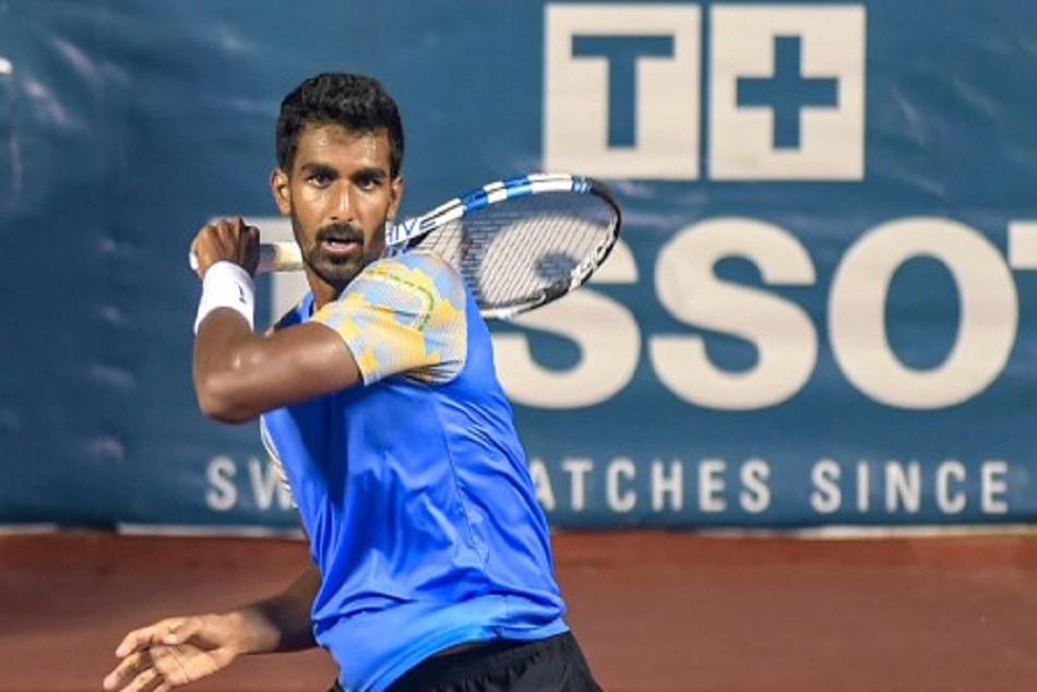 Tennis player Prajnesh Gunneswara won bronze in asian games 2018
