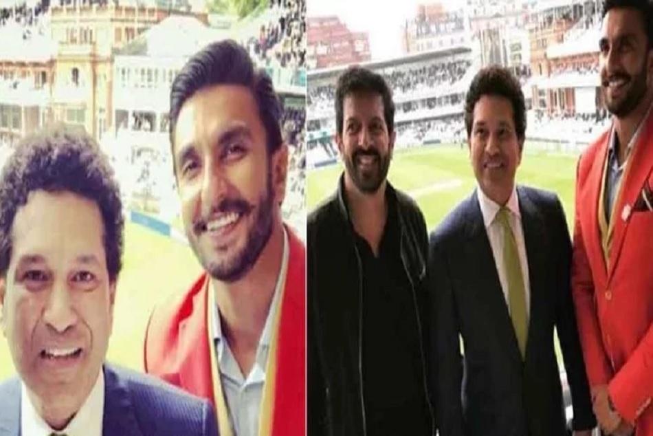 Ranveer Singh Meet Sachin Tendulkar Lords