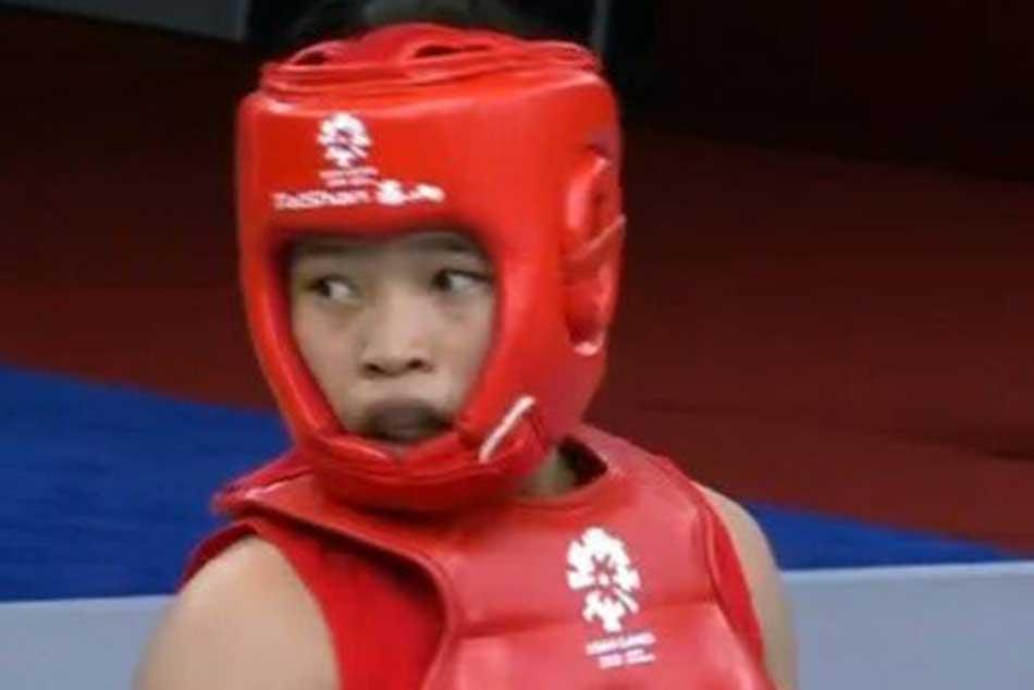 Roshibina Devi gets bronze in Wushu Womens Sanda 60 kg event