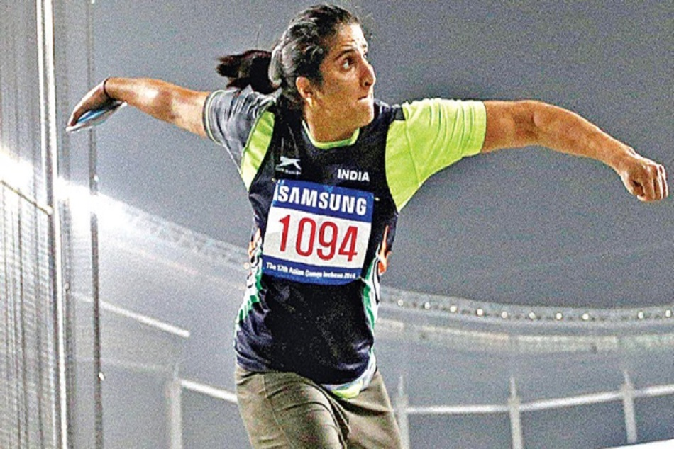 Asian Games 2018: Seema Punia wins bronze medal in discus throw