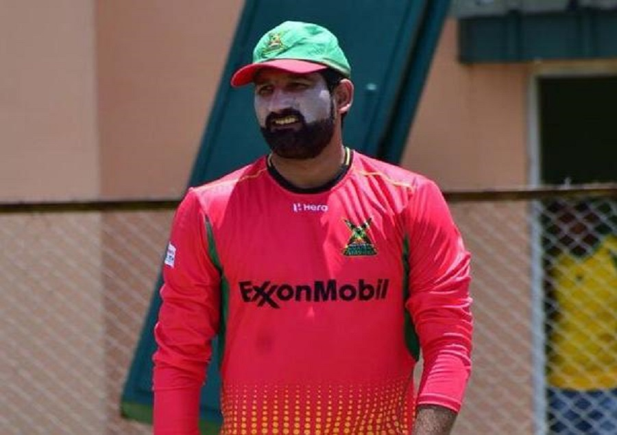 CPL: Sohail Tanvir gives Ben Cutting vulgar sending-off
