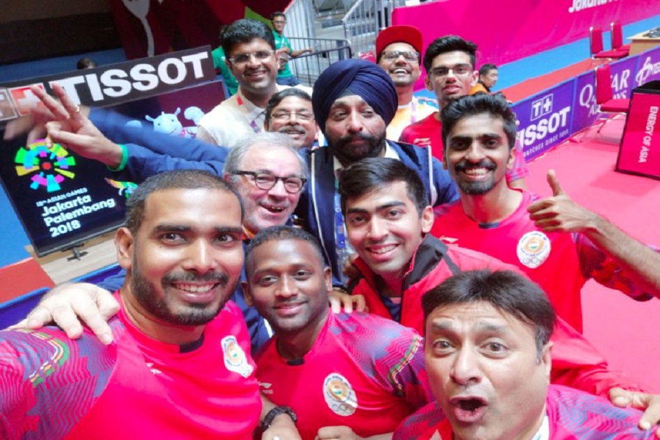 Asian Games 2018:India mens table tennis team win bronze