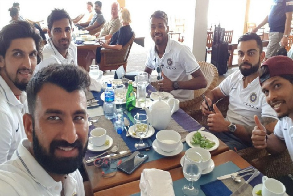 this is What Team India Had For Lunch At Lords test match