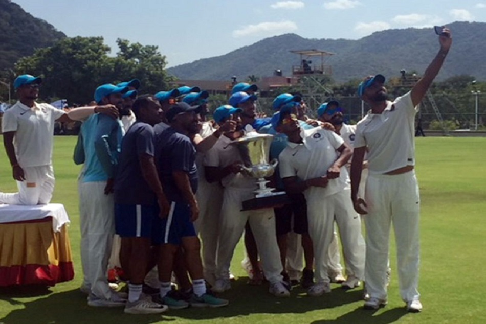 India Blue Clinch The Duleep Trophy