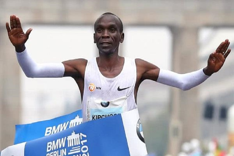 Kenyan Athlete Kipchoge Makes World Record Marathon