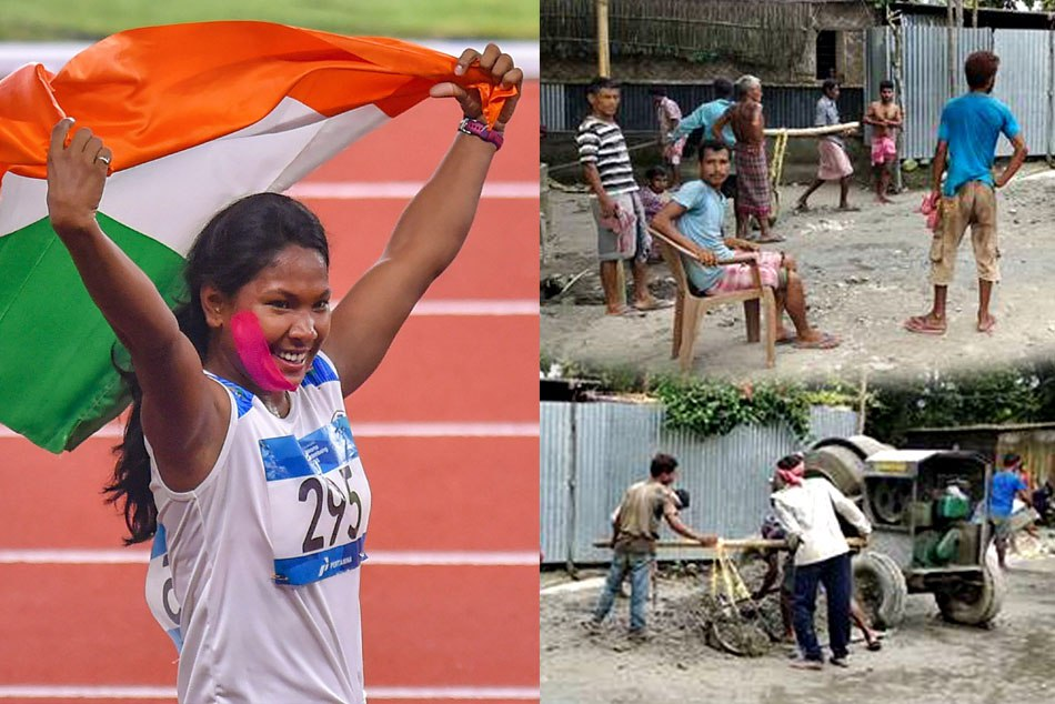 Swapna Barman Gold Asian Games Bring New Road Her Village