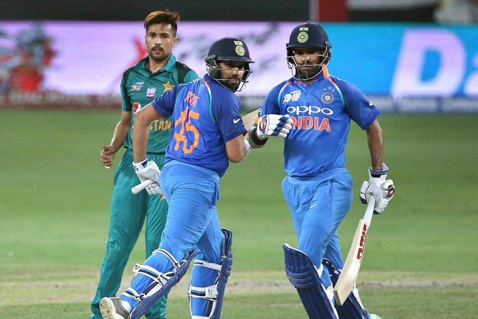 Asia Cup 2018 Ind Vs Pak Duo Ton Of Rohit Sharma Shikhar Dhawan Creates 11 Amazing Cricket Records