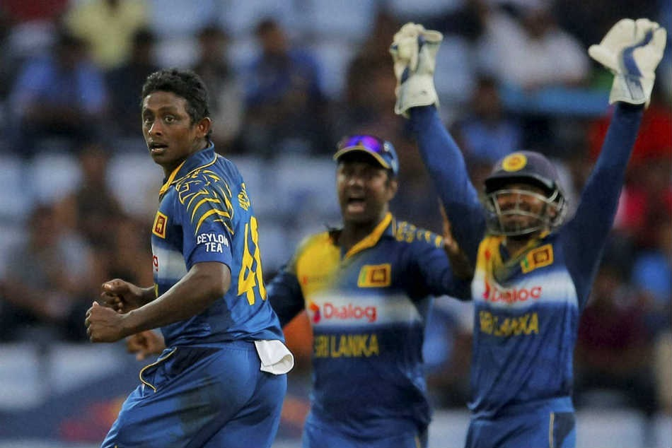 Asia Cup History: Ajantha Mendis bowling in Asia cup final 2008 against India