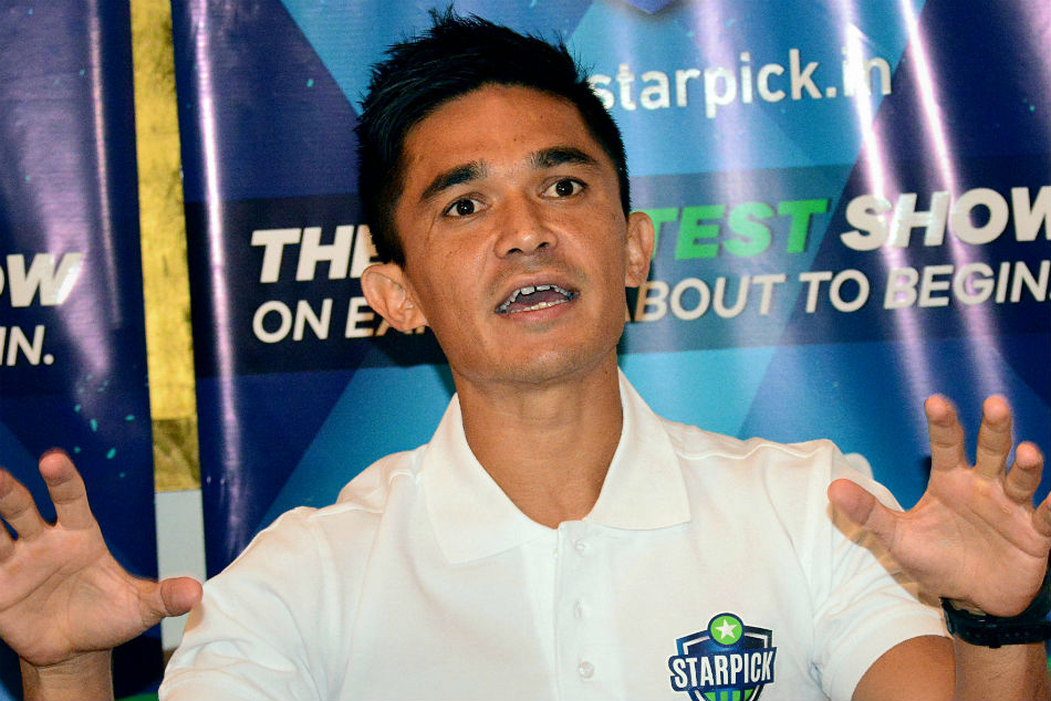 Indian Skipper Chhetri Ready Afc Asian Cup Challenge Said Gr