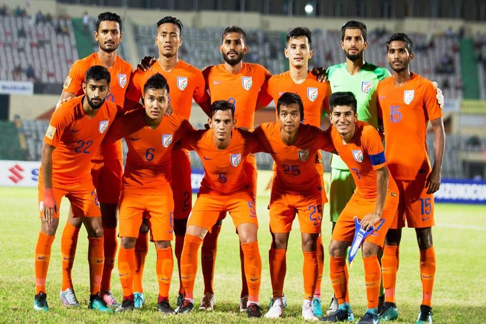 Indian Football Team Vs Maldiv Saiff Cup Championship