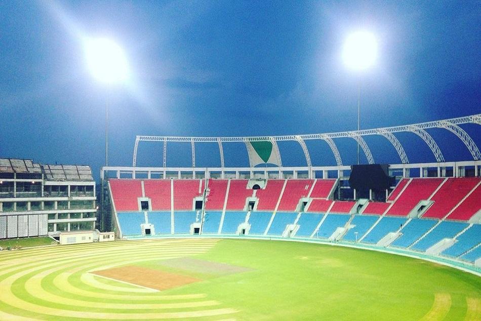 Lucknow Ekana Cricket Stadium Debut As International Venue T