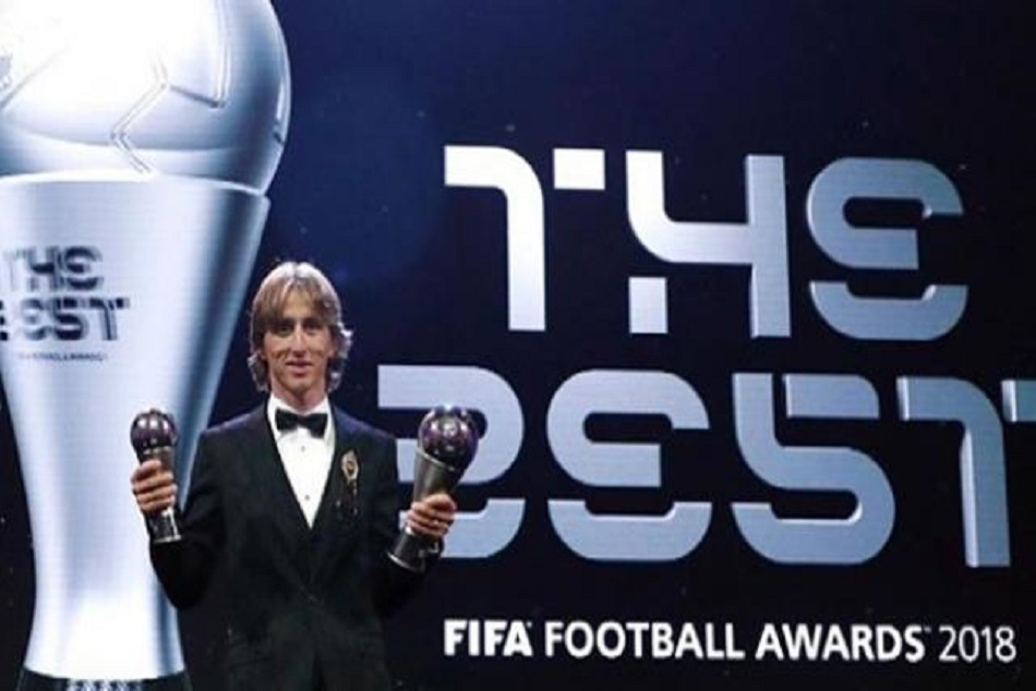 Luka Modric became the player of the year end ronaldo and messi reign