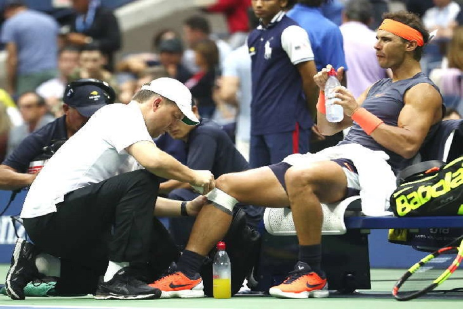 Us Open Rafael Nadal Injured Djokovic Vs Del Potro Final