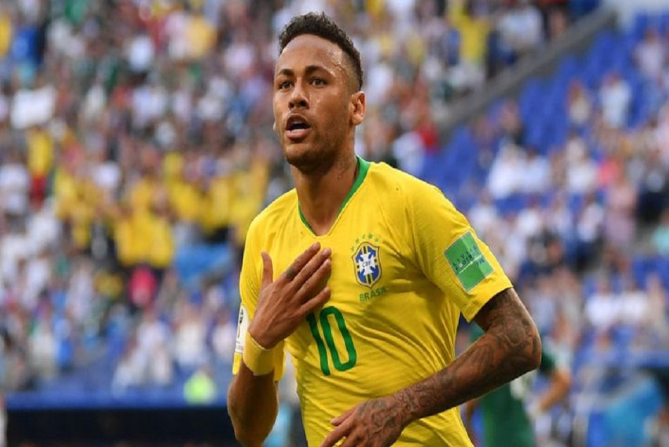 Football Neymar Junior Became Full Time Captain Brazil