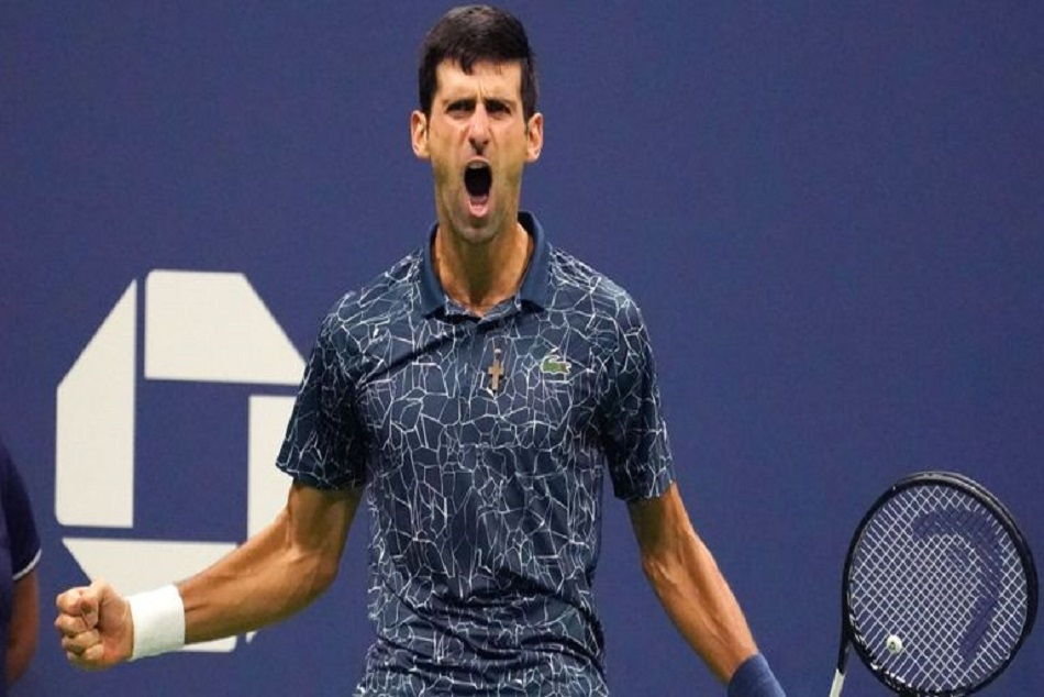 Us Open Novak Djokovic Beats Juan Martin Del Potro