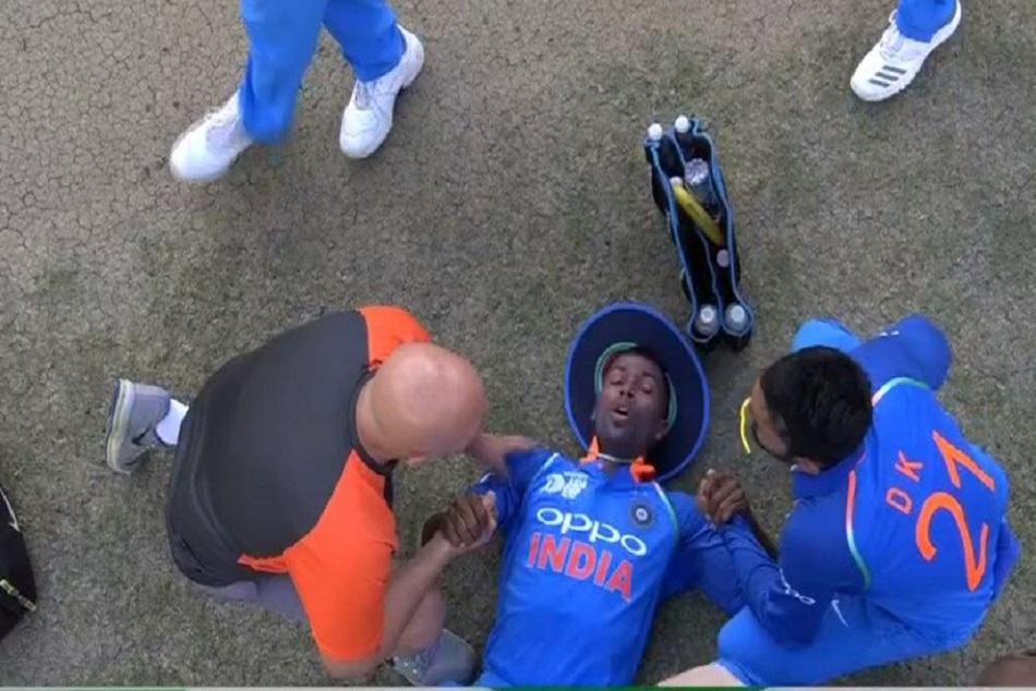 Indvspak Hardik Pandya Suffers From Lower Back Injury Against Pakistan