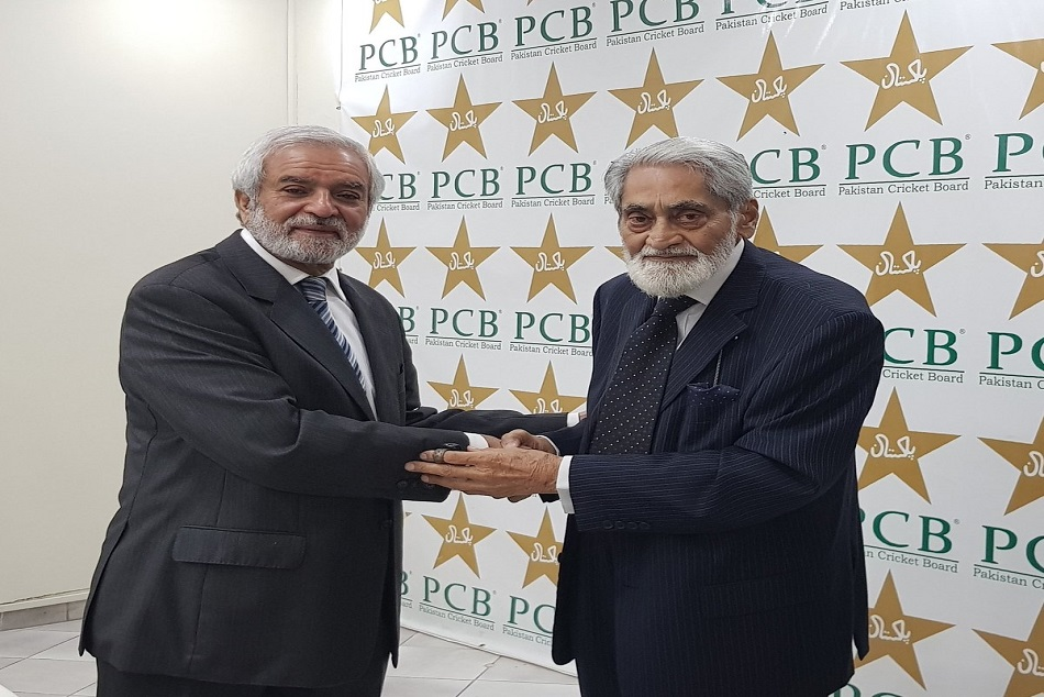 Former Icc President Ehsan Mani Has Been Elected As The New Chairman Pakistan Cricket Board