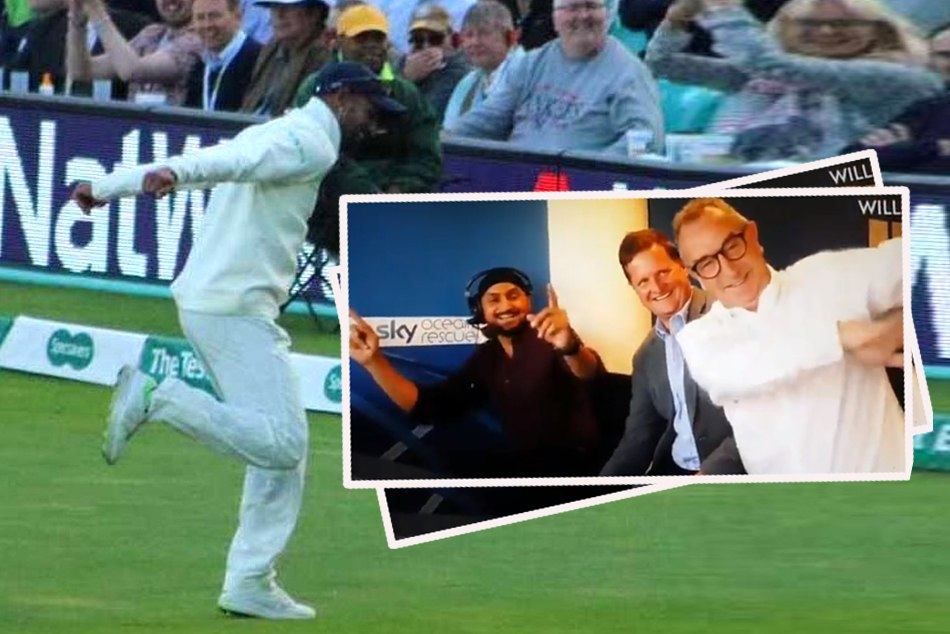 Indvseng Shikhar Dhawan Did Bhangra At Oval Ground Video Viral