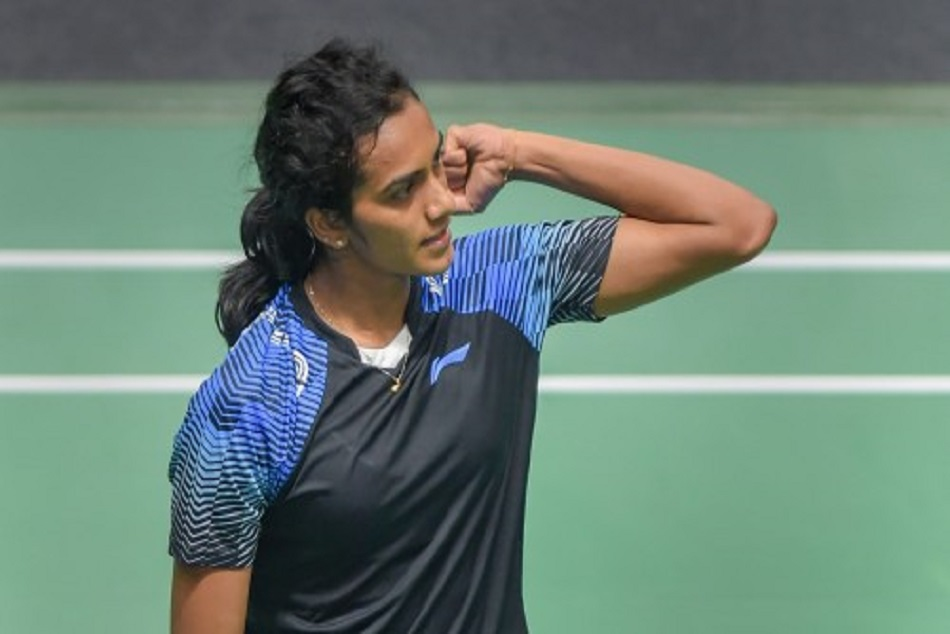 pv sindhu losses to chinas gao finggi in japan open ou of the series