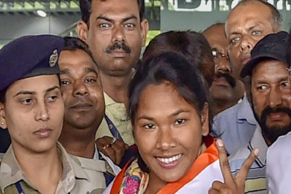 Swapna barman will go mumbai for treatment asian games gold medalist