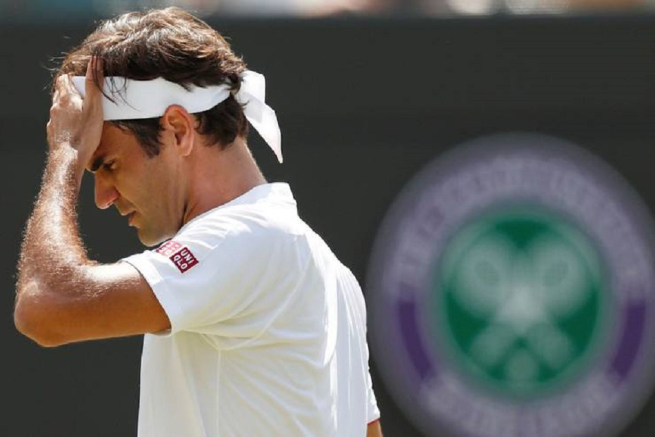 Usopen Roger Federer Crashes After Defeat Against John Millman