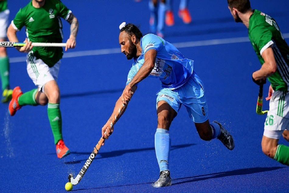 Hockey India congratulates just-retired former captain Sardar Singh