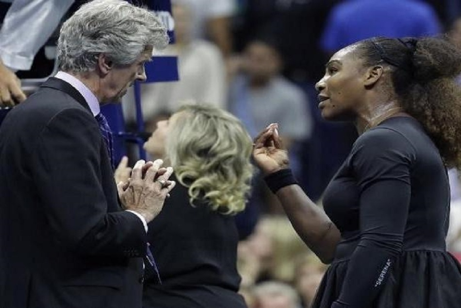 Us Open 2018 Serena Williams Calls Umpire Liar Cheater