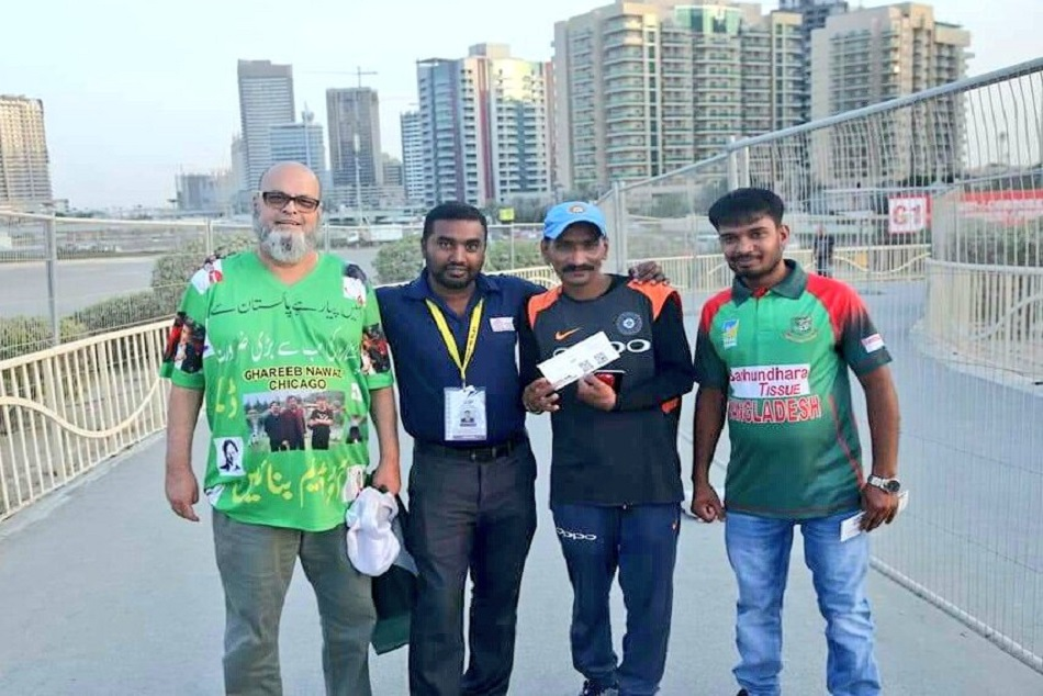 Asia Cup 2018:Paks Chacha Chicago Sponsors Indian Fans UAE Trip For Asia Cup