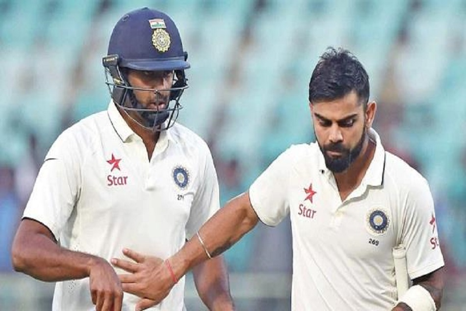 Ravichandran ashwin is far better than virat against west indies in batting